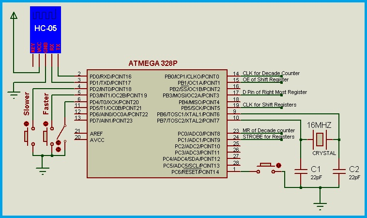 Led Display Circuit