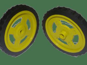 Wheels for Robot (Line Follower etc.) – India