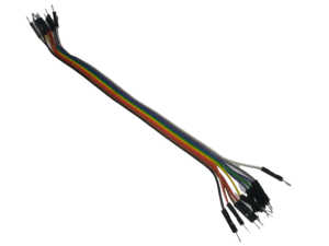 Male to Male Jumper Cable Wire 25cm (Pack of 10) – India