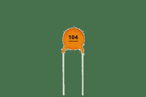 0.1uF Capacitor (Pack of 5) Ceramic - CircuitUncle - Buy in India