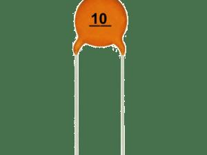 Capacitor 10pF (Pack of 5) Ceramic