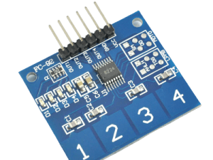Four Channel Capacitive Touch Sensor – India