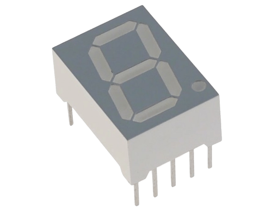 Seven Segment Display (Common Anode) - CircuitUncle - Buy in India
