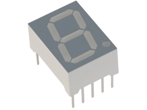 Seven Segment Display (Common Anode Cathode) – India