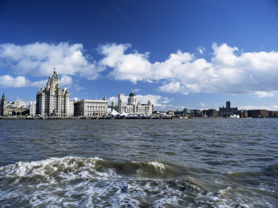 119-1528~Liverpool-and-the-River-Mersey-Merseyside-England-United-Kingdom-Posters