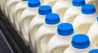 Closed Loop produces more than 80% of recycled plastic used in milk bottles in the UK