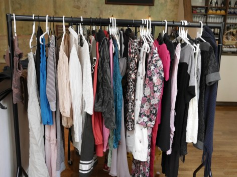 Clothes on rail_RefashionEast