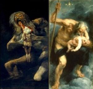 pinturas de Goya y Rubens