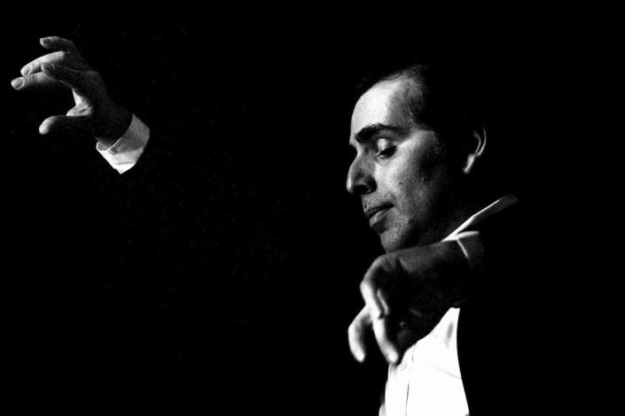 Foto de Pepe Torres en el Círculo Flamenco de Madrid, tomada por Rufo