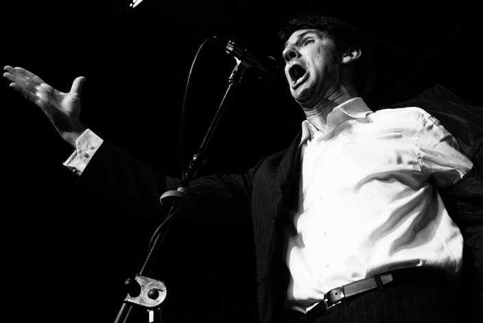 Foto de Perico El Pañero en el Círculo Flamenco de Madrid, tomada por Rufo