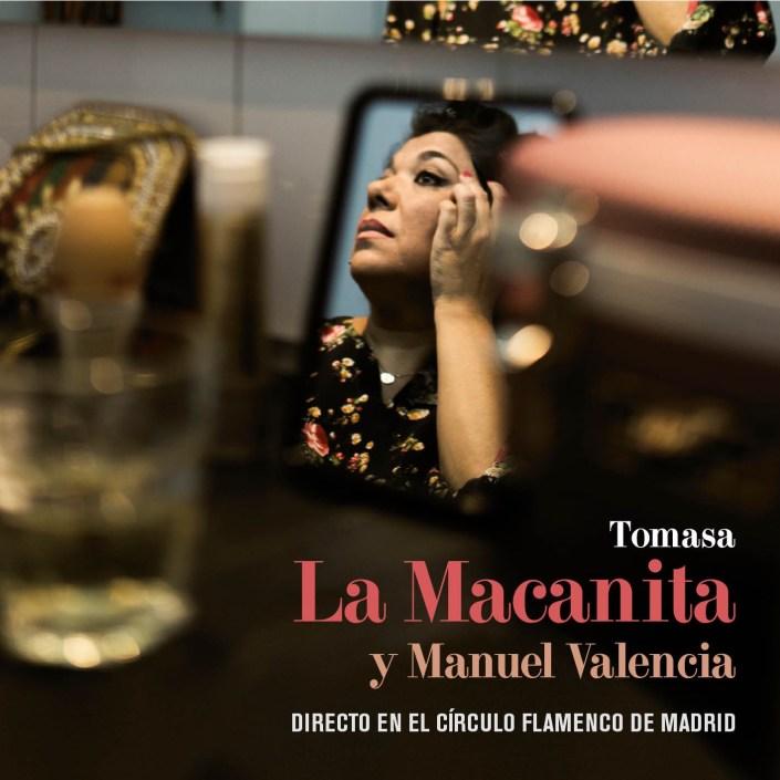 Foto del directo de La Macanita y Manuel Valencia en el Círculo Flamenco de Madrid