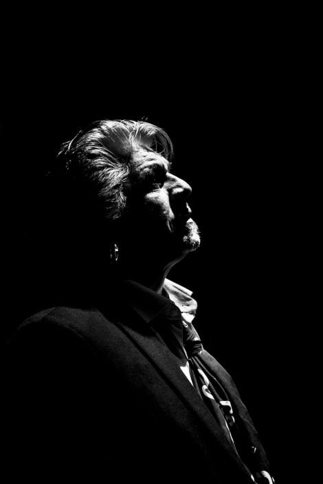 Foto de Antonio Malena en el Círculo Flamenco de Madrid, tomada por Claudia Ruiz