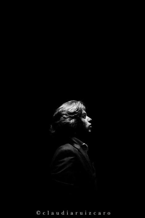 Foto de Manuel de la Tomasa en el Círculo Flamenco de Madrid, tomada por Claudia Ruiz