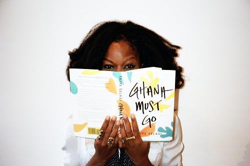 Writer Taiye Selasi. Ghana Must Go author.