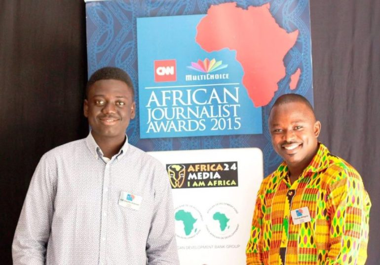 Fiifi Anaman CNN MultiChoice Awards