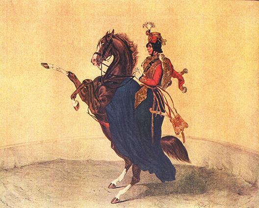Année 1852 au Cirque