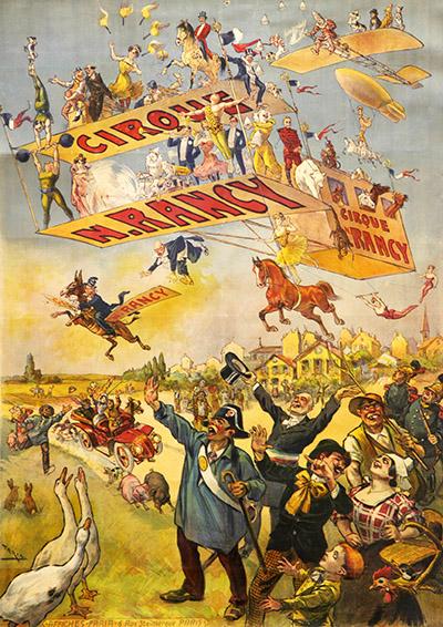 Affiche du Cirque Napoléon Rancy - affiches de Cirque