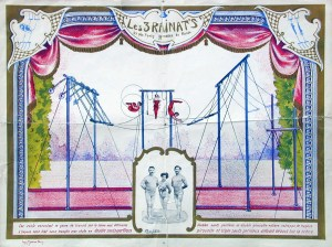 Illustration : Les Rainat - 1901 au Cirque