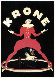 Le Cirque Krone - affiches de Cirque