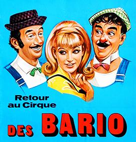 Les Bario, clowns vedettes