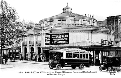 Medrano à Paris