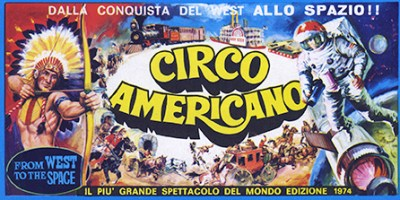 flyer du Circo Americano, cirque monumental