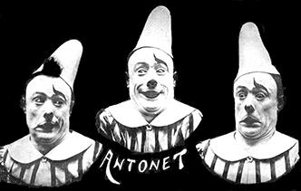 Antonet, un clown drôlatique