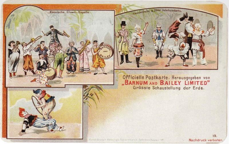 Barnum & Bailey en Allemagne - 1901 au Cirque