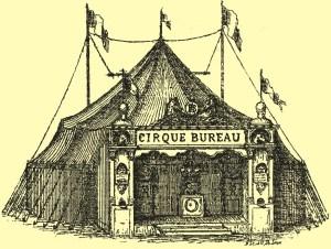 chapiteau du Cirque Bureau, direction Bureau frères