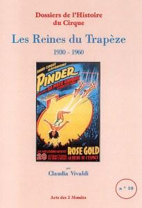 couverture du livre : Les Reines du Trapèze par Claudia Vivaldi, éditrice de Cirque