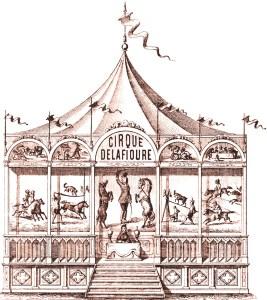 Façade du Cirque Delafioure