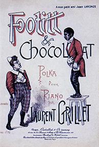 foottit et chocolat polka partition de musique - Année 1900 au Cirque