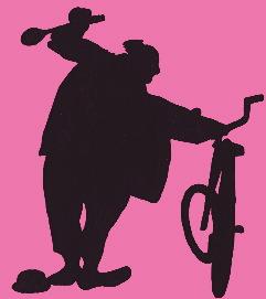 Silhouette de Joe Jackson - Le voleur de bicyclette
