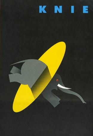 Affiche du Cirque Knie - Encyclopédie du Cirque