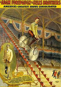 Artistes unijambistes au Cirque