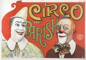 Circo Parish - Année 1902 au Cirque