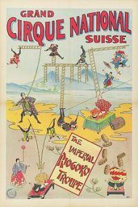 Troupe Riogoku - Année 1902 Cirque