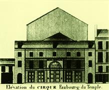 Amphithéâtre d'Astely en 1784 - cirques parisiens