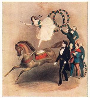 Palmyre Anato au Cirque des Champs Elysées