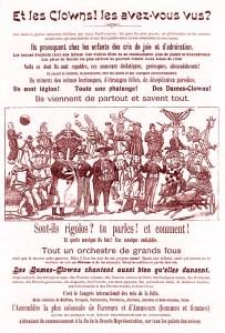 Les clowns de Barnum & Bailey - Année 1902 Cirque