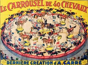 Carrousel d'Oscar Carré - Lexique Cirque