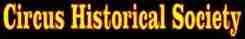 Circus historical society - Sites strangers
