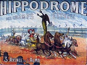 Course de chars à l'Hippodrome - Hippodromes parisiens