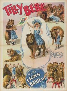 Tilly Bébé - Cirque 1902 Cirque