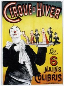 Les Colobri au Cirque d'Hiver Franconi