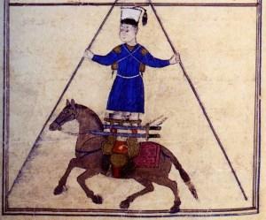 Cavalier ottoman en 1474 - Voltigeurs à cheval