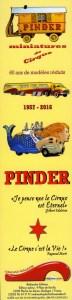 annonce - miniatures de Pinder
