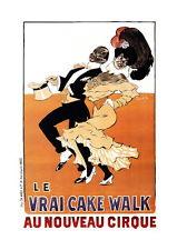 Affiche du cake-walk - Nouveau Cirque de Paris