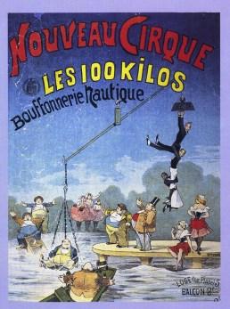Les 100 kilos - Nouveau Cirque de Paris