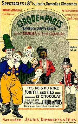 Affiche du Cirque de Paris - Cirque Metropole